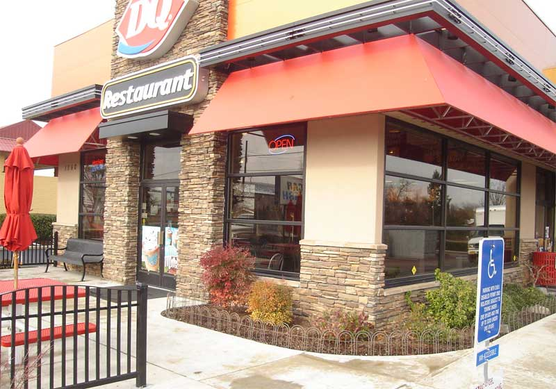 Dairy Queen Remodel,  Main St. Location