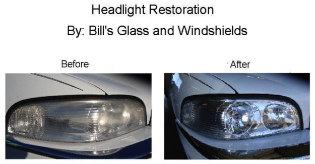 Headlight Restoration Bill S Glass Serving Medford Ashland