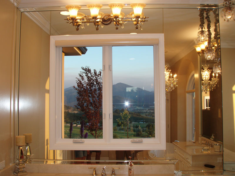 Vinyl Windows Custom Shower Doors Mirrors Residential Glass
