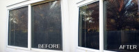 Have water stains on your windows? We can get them off