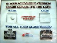 Chipped Windshield? Bill's Glass can fix it